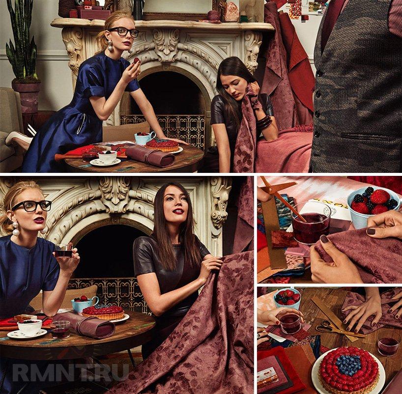 Винный цвет марсала – модный тренд 2015 года в интерьере
