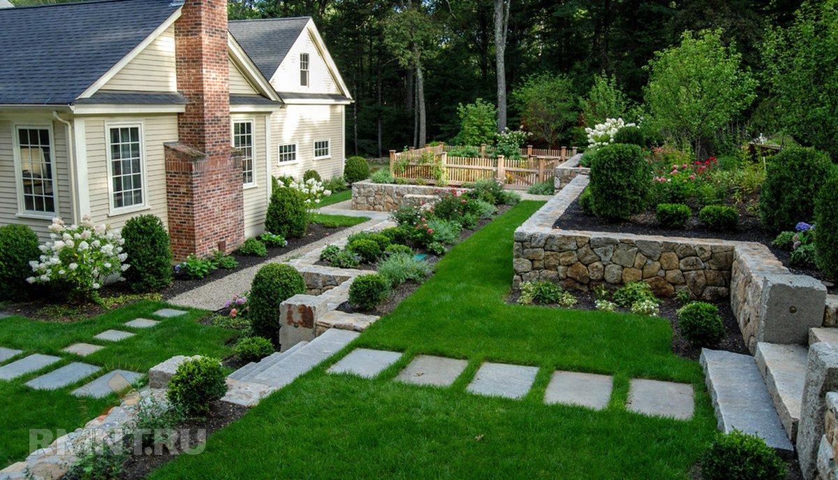 Дизайн загородного коттеджа