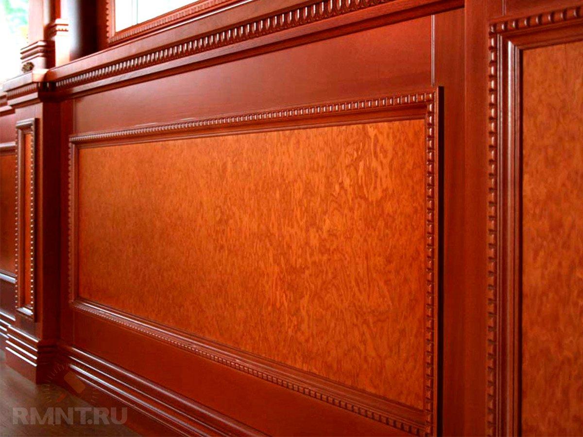 Деревянные стеновые панели: виды и сфера применения