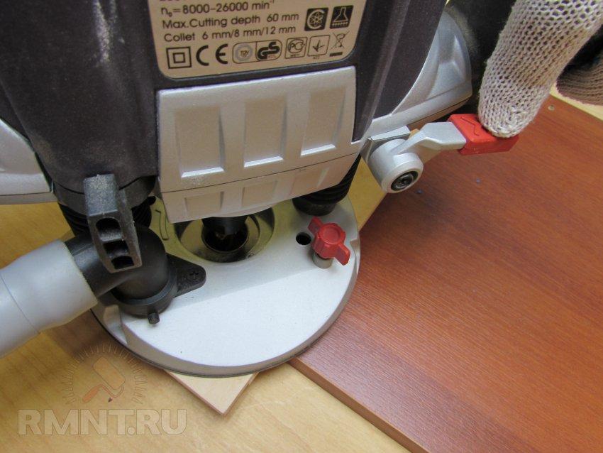 Фреза для установки мебельных петель