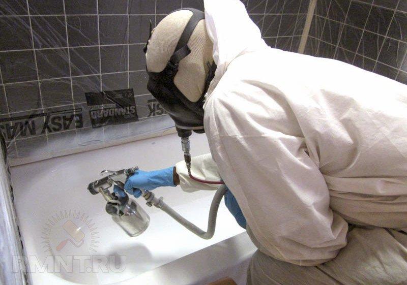 Ремонт пластиковых ванн своими руками 473