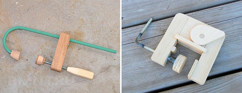 Как сделать столярную струбцину своими руками