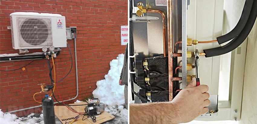 Отопление дома тепловым насосом «воздух-воздух»