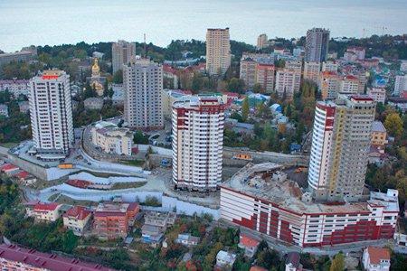 Сочи стал лидером по росту цен на первичное жильё