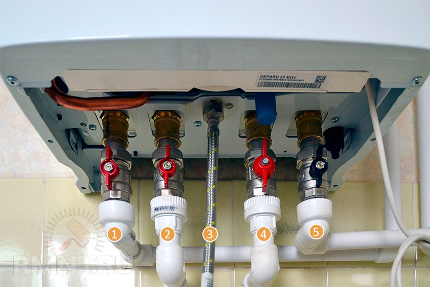 Как правильно сделать обвязку газового котла 497