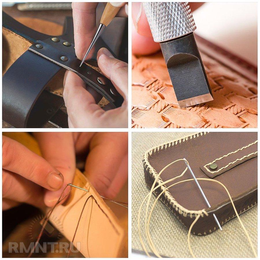 Инструменты для работы с кожей