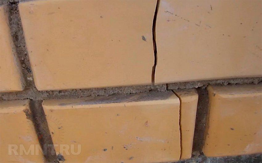 Трещина в стене дома: как определить причину и устранить последствия RMNT.RU