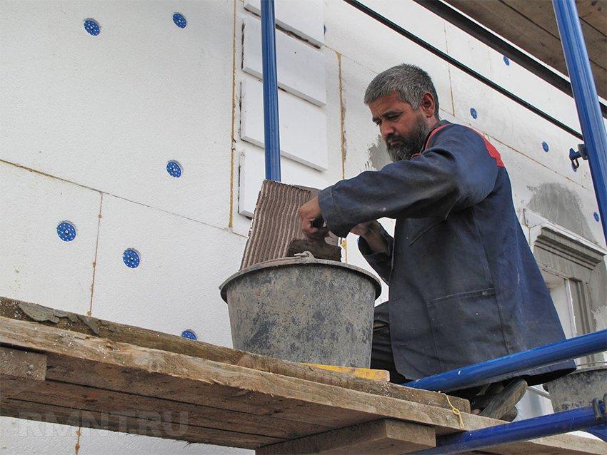 Мокрый фасад — технология отделки и область применения