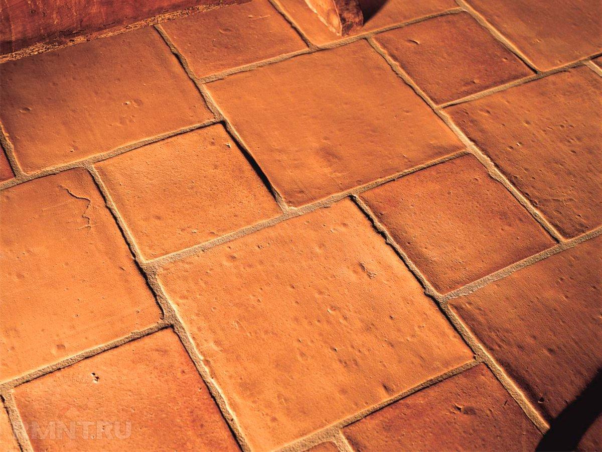 Терракотовая плитка: индивидуальности материала и использования