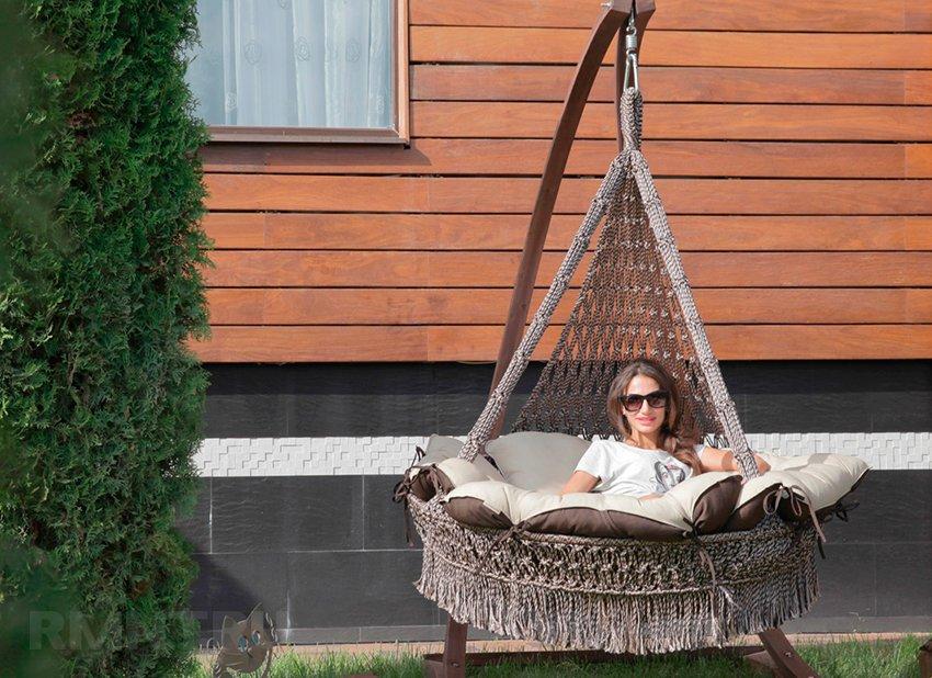 Как сделать подвесное кресло гамак своими руками