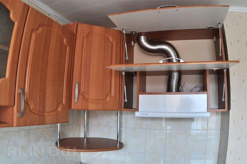 Как установить кухонную вытяжку своими руками в частном