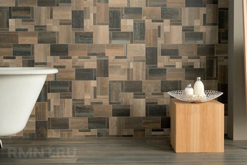 Кафель и керамогранит: сочетание и подбор плитки под интерьер