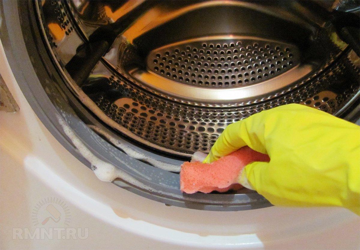 Как провести чистку стиральной машины