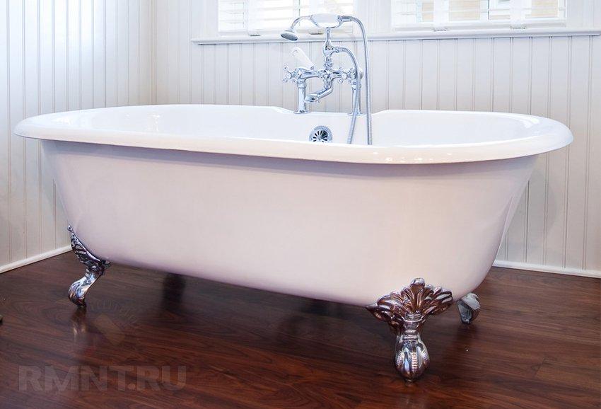 Какую ванну выбрать акрил чугун сталь