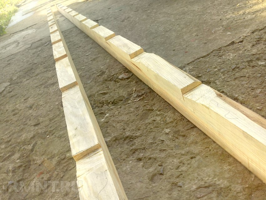 Видео приставная деревянная лестница своими руками