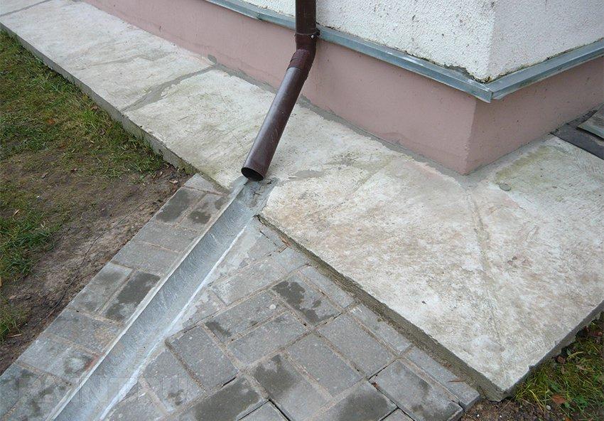 счетчик в лотке фекальной канализации схема