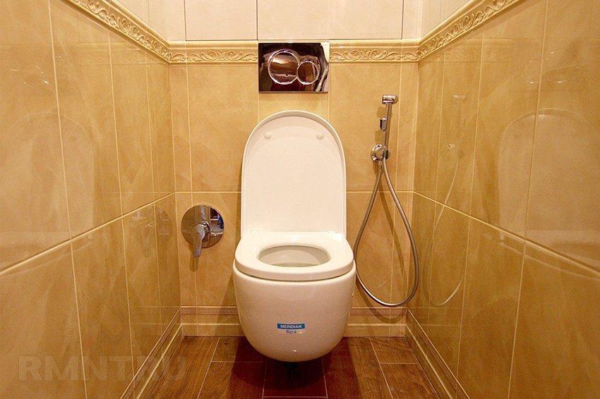 Как сделать гигиенический душ 172