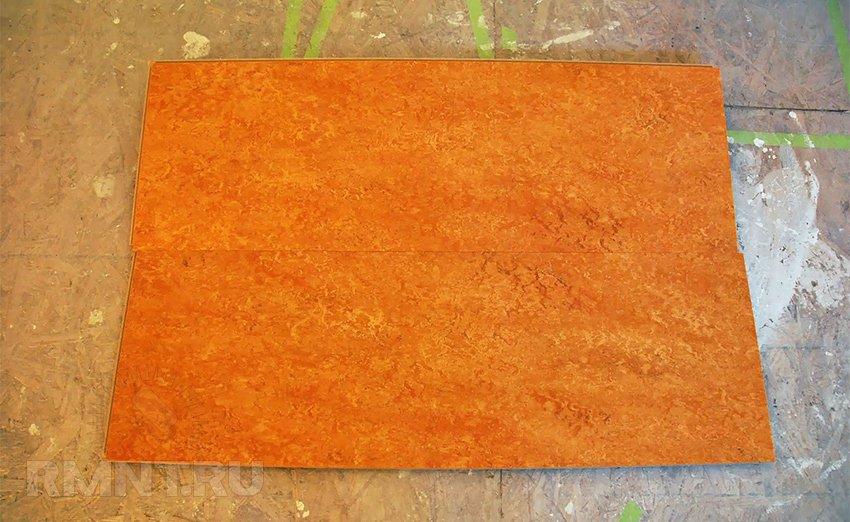 Мармолеум. Новый взгляд на напольные покрытия