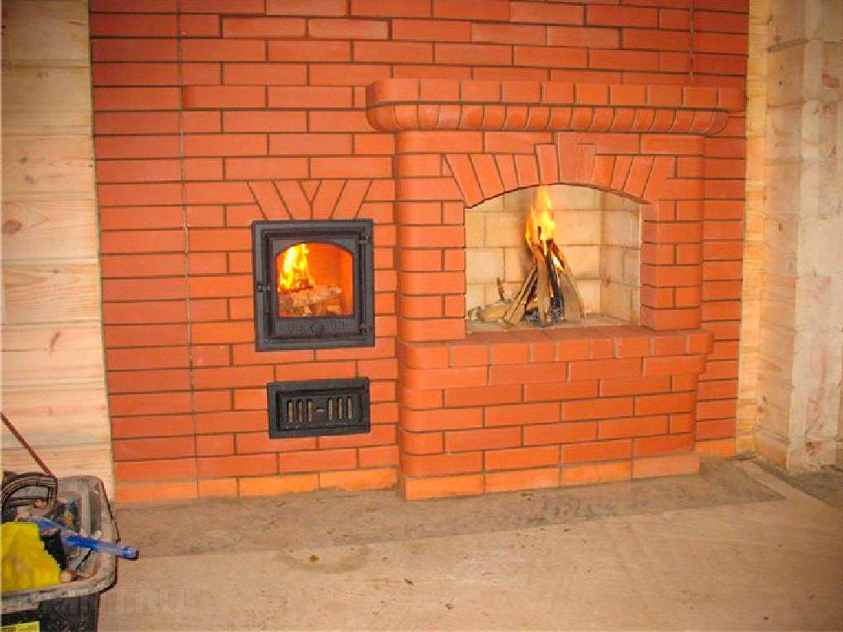 Строительство отопительной печи в загородном доме Камины своими руками и в кузнецов