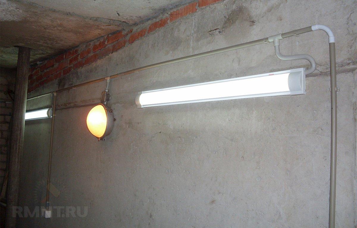 Светодиодное освещение в гараже - Lights-Market 23