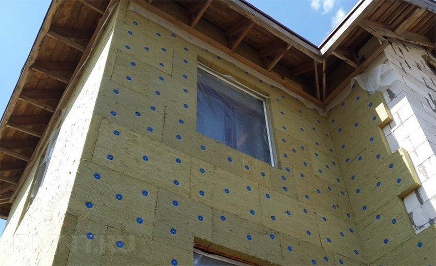 Технология мокрый фасад для газобетона