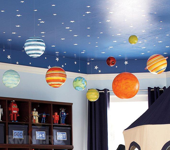 Звезды в детскую на потолок