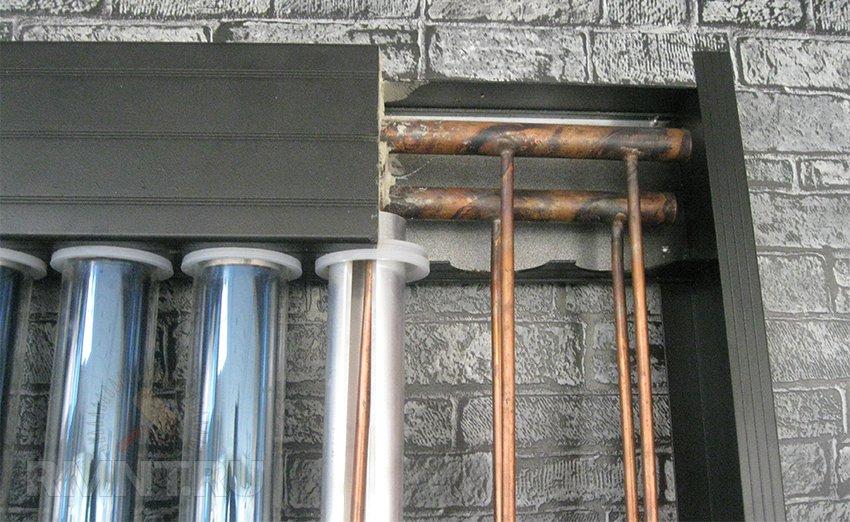 Тепловые трубки вакуумного коллектора