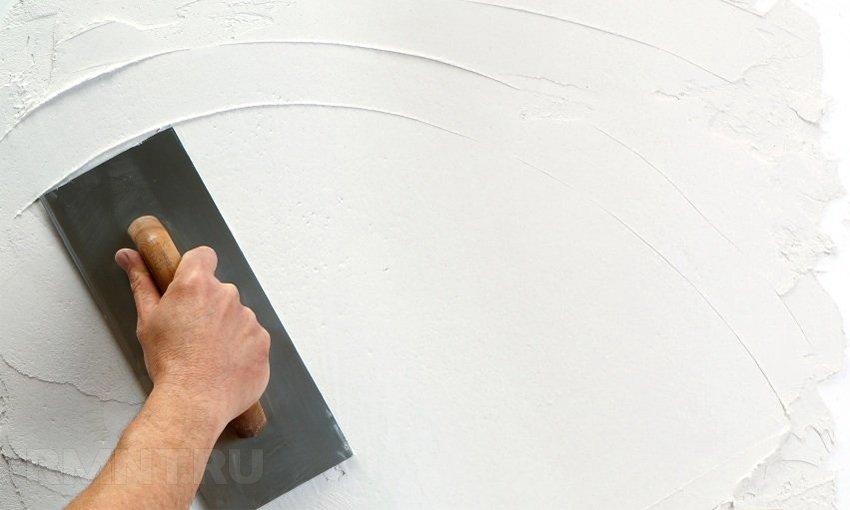 Штукатурка и шпаклевка стен своими руками технология 53