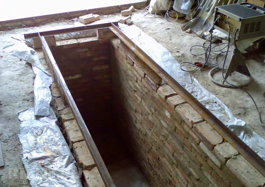 Гидроизоляция ямы в гараже своими руками видео