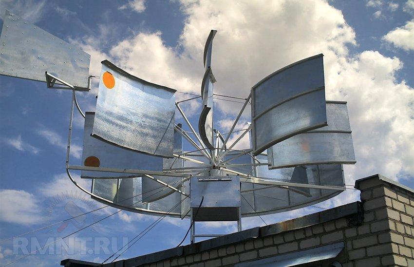 Ветрогенераторы для дома вертикальные своими руками