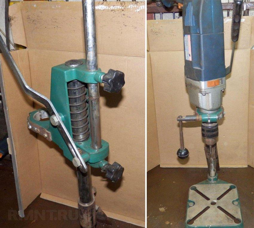 Стойка для дрели InterTool ST-0001