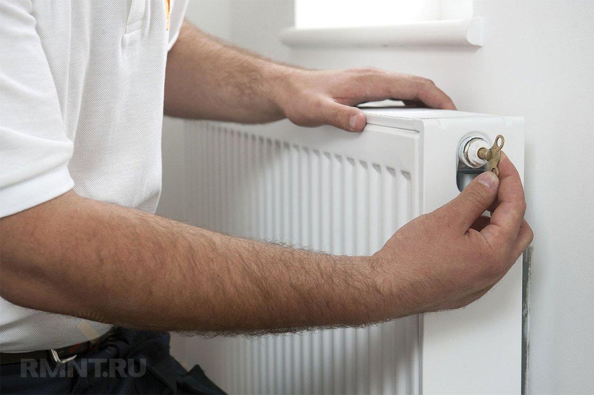 Воздух в системе отопления частного дома
