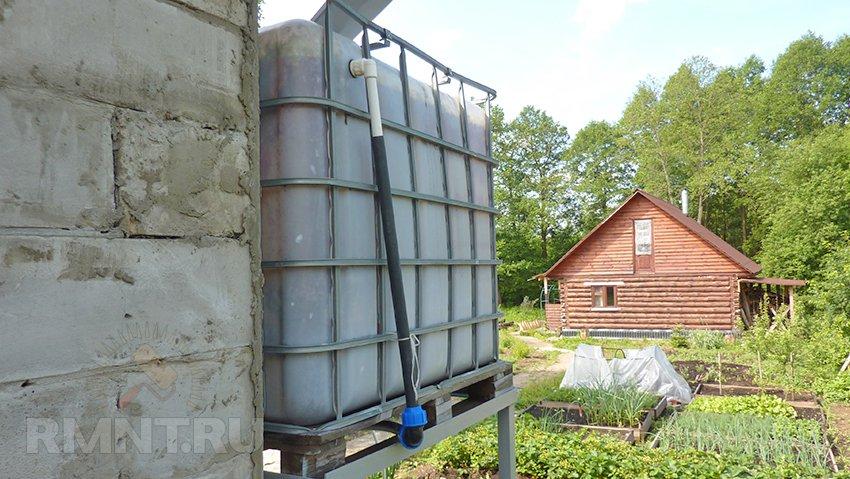 Емкость для воды на крышу своими руками фото 340