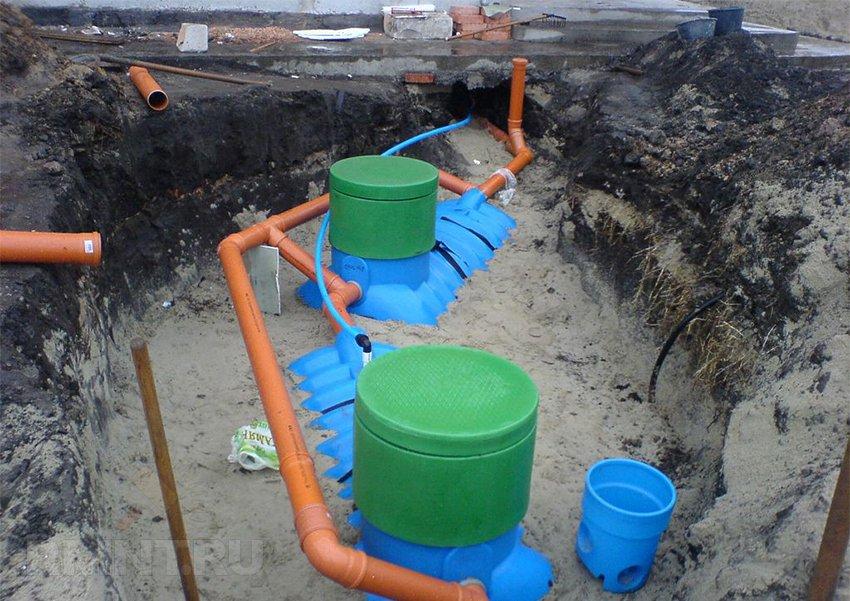 Проектирование и монтаж канализации частного дома своими руками