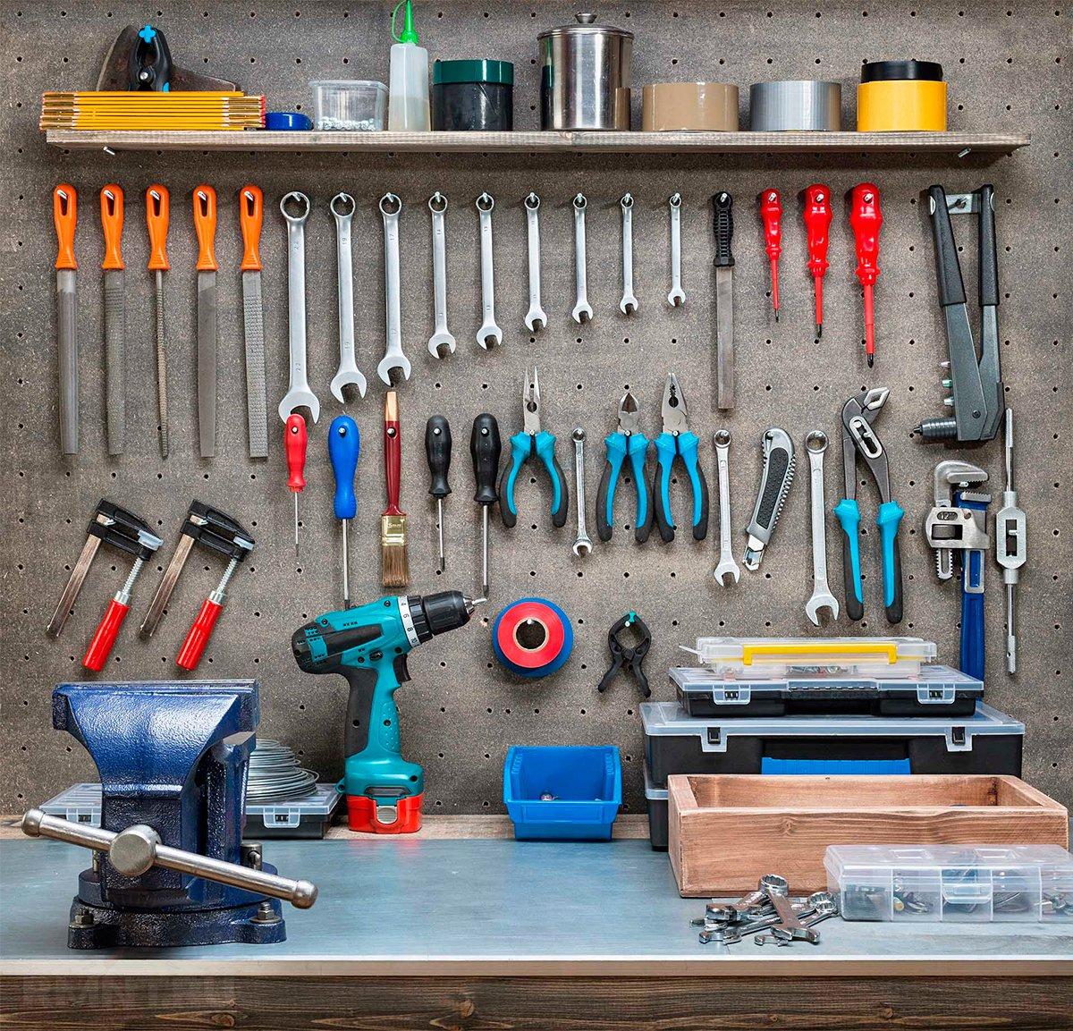 Как сделать верстак в гараж своими руками
