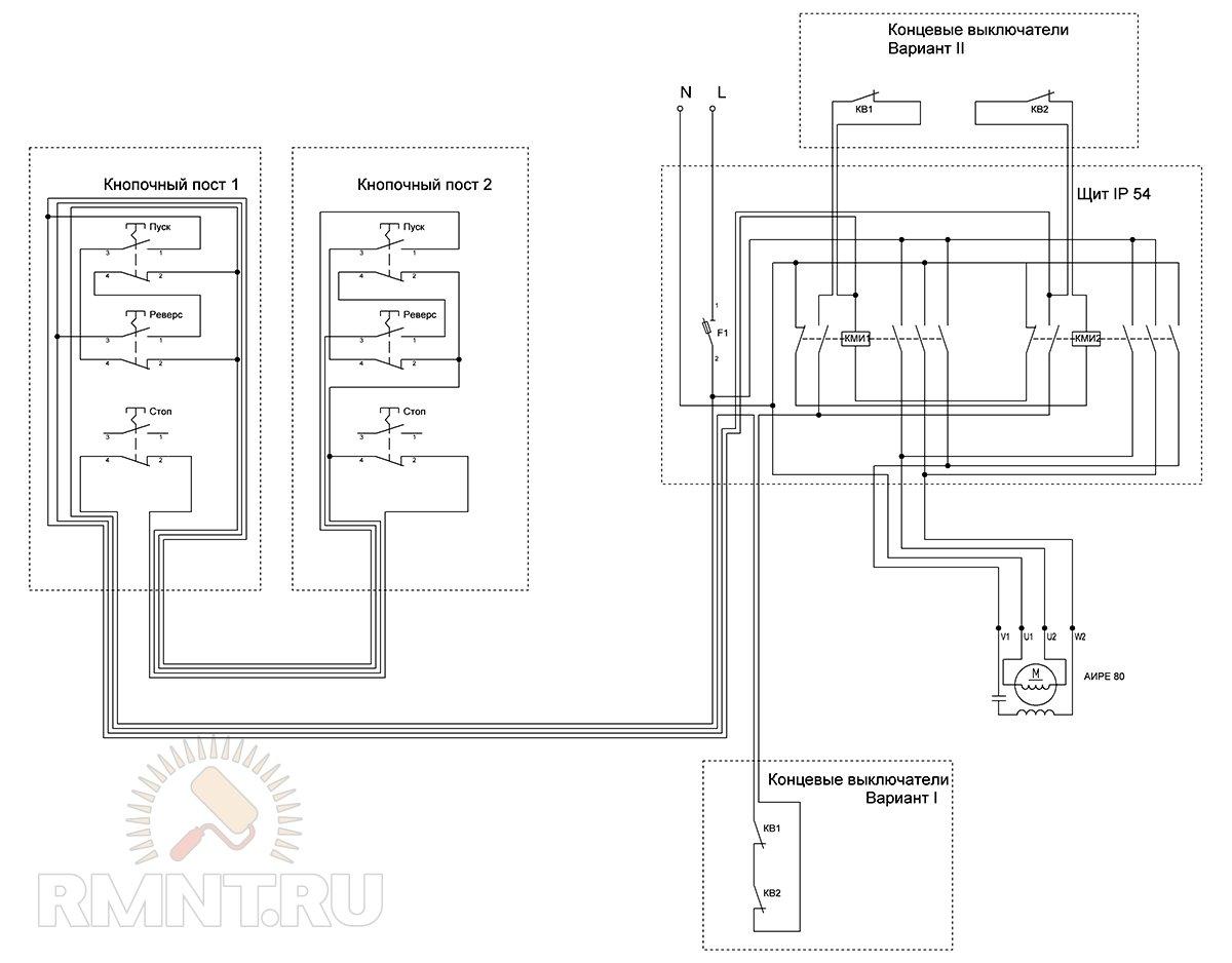 схема блока автоматики погружного насоса