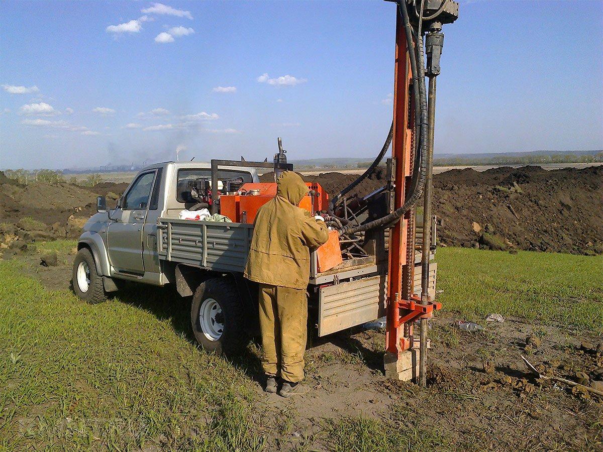 Инженерно-геологические изыскания участка