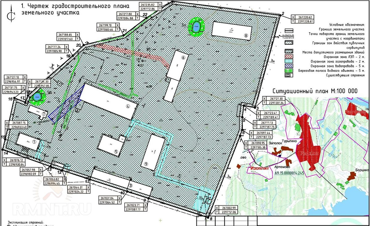 Градостроительный земельный план