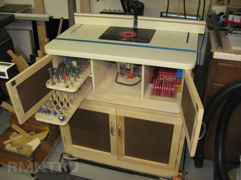 for How to make a router table stand