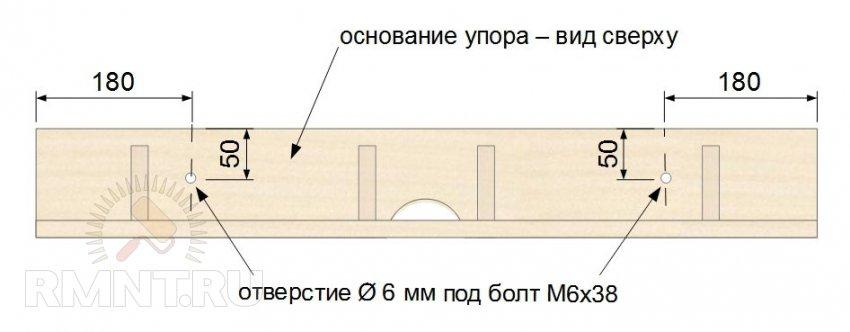 Параллельный упор для фрезерного стола своими руками