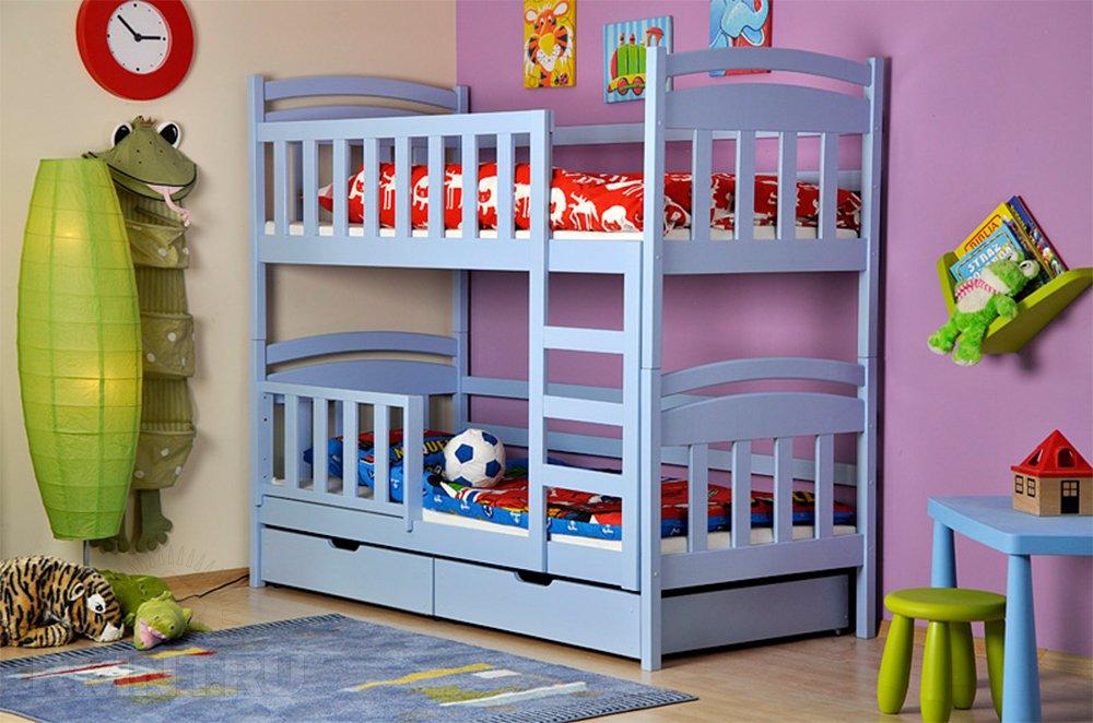 Удачное решение для, как заведено выражаться, детской — двуэтажная наконец-то кровать