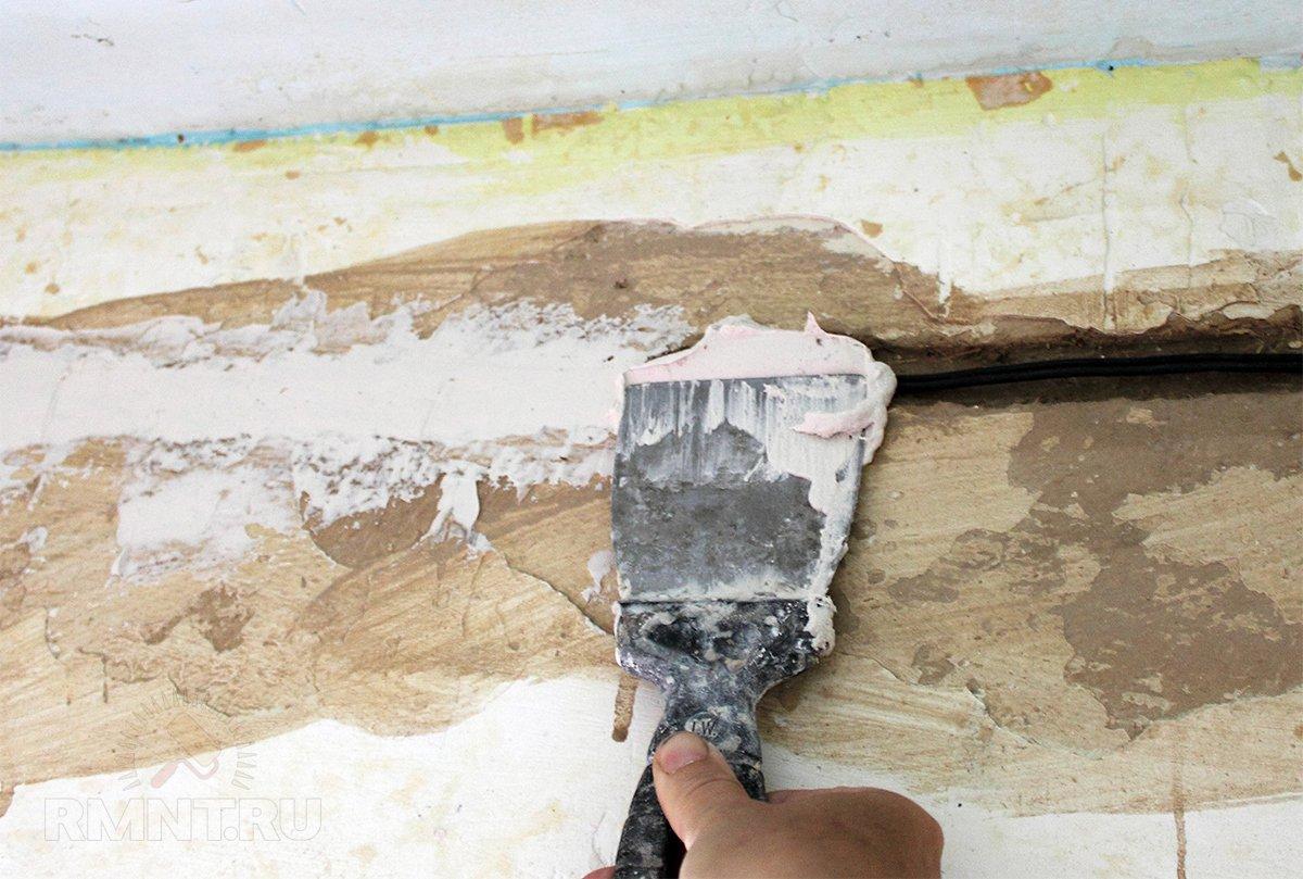 Штробление стен под проводку болгаркой