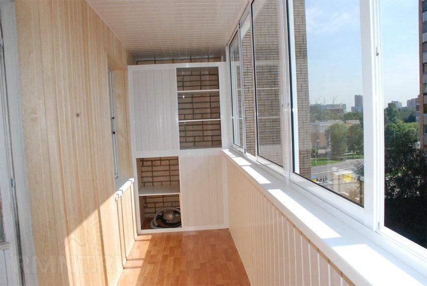 Собираем шкаф на балконе своими руками 90