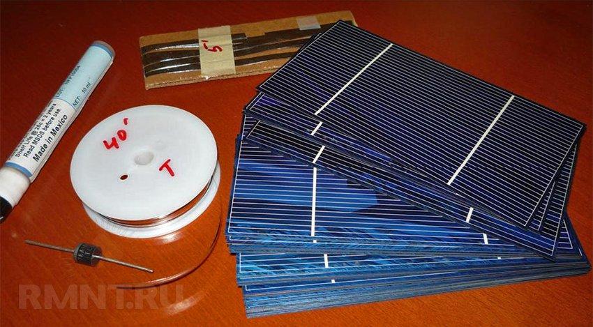 Как сделать солнечную батарею своими руками для лампочки