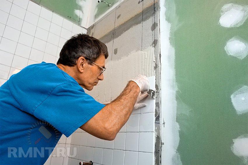 Ремонт ванной комнаты своими руками видео пошагово