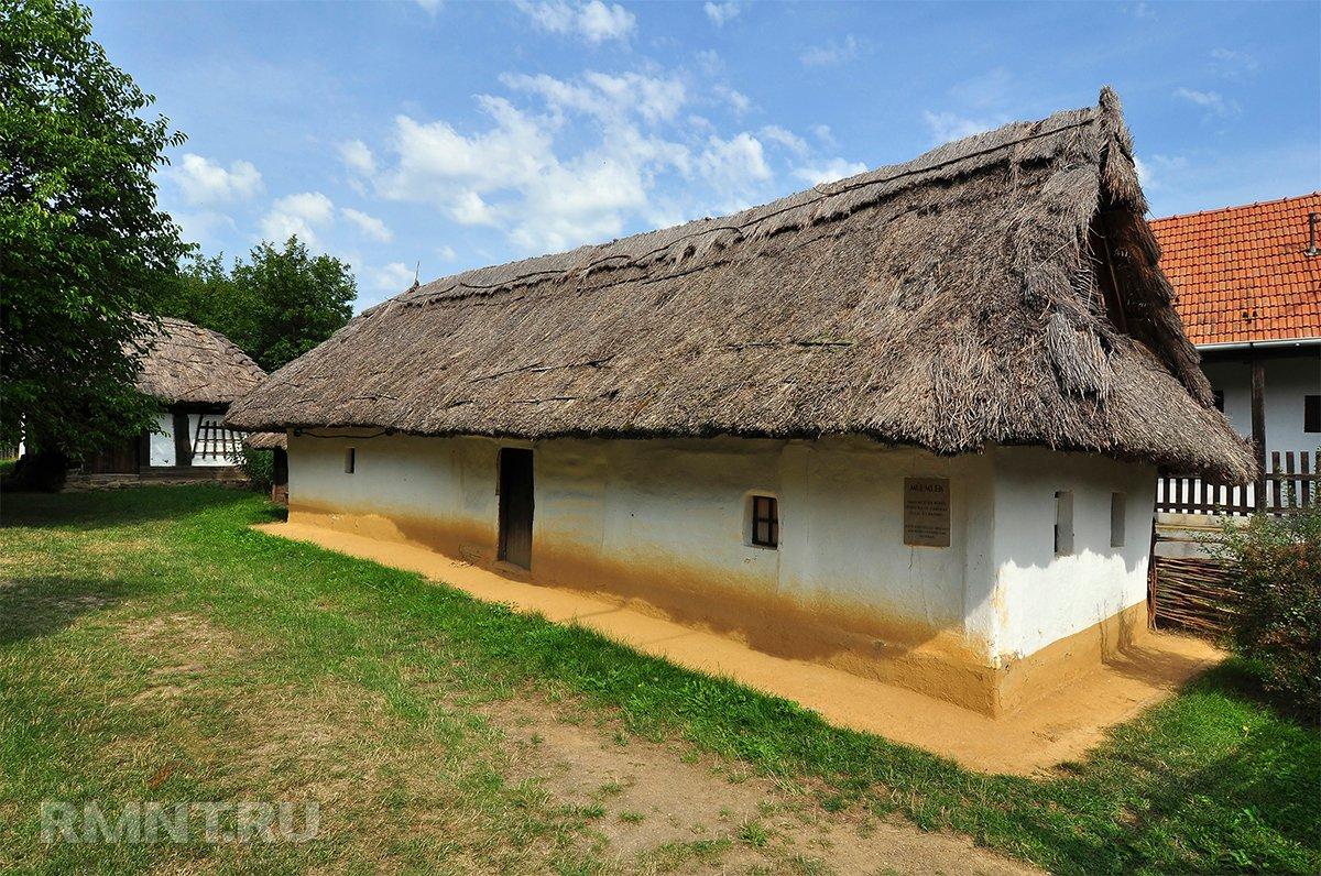 Дом из самана — мазанка