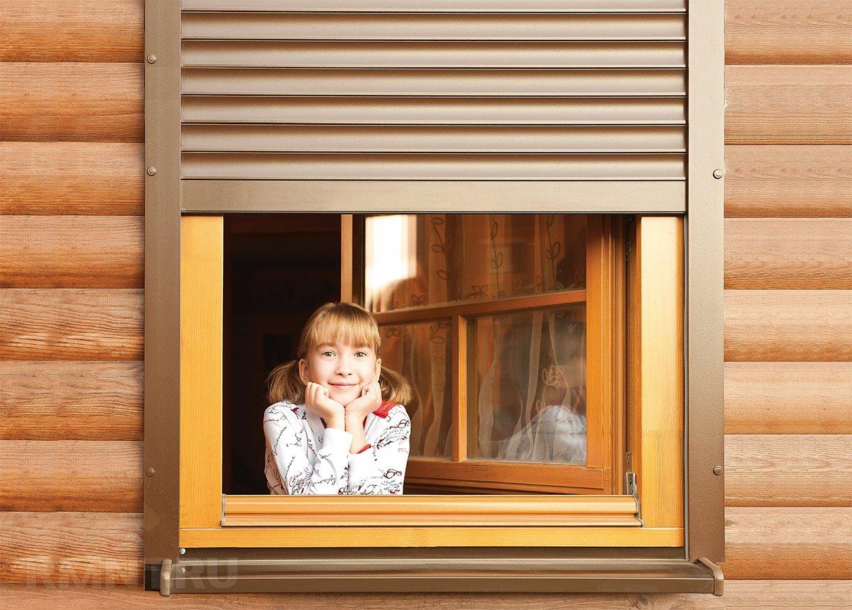 Алютех: как выбрать рольставни на окна для дома и дачи