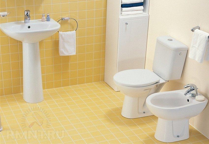 Как установить раковину в ванной комнате своими руками