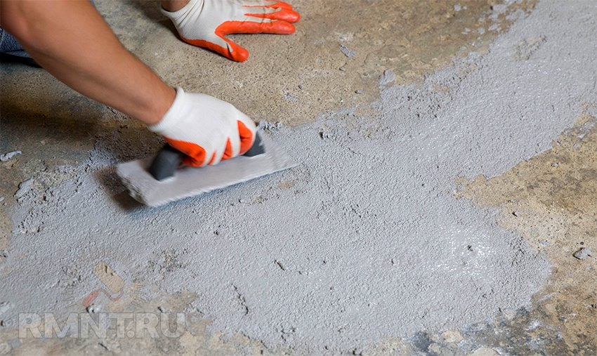 Клей для щелей в бетоне