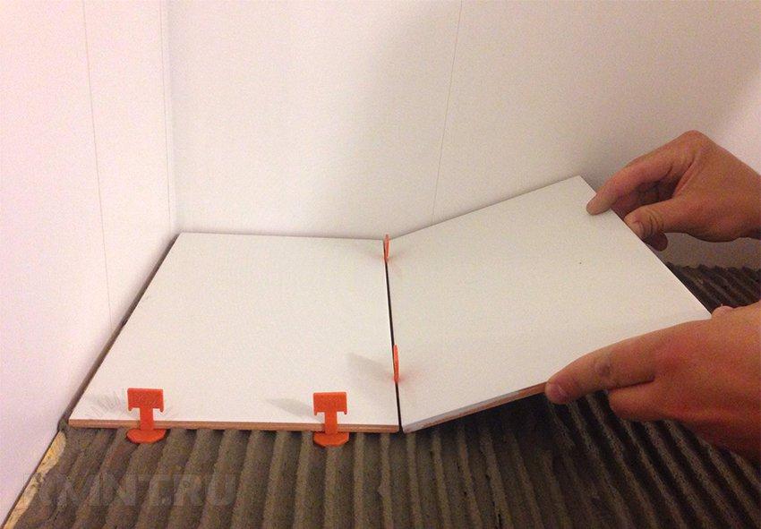 Как сделать система выравнивания плитки